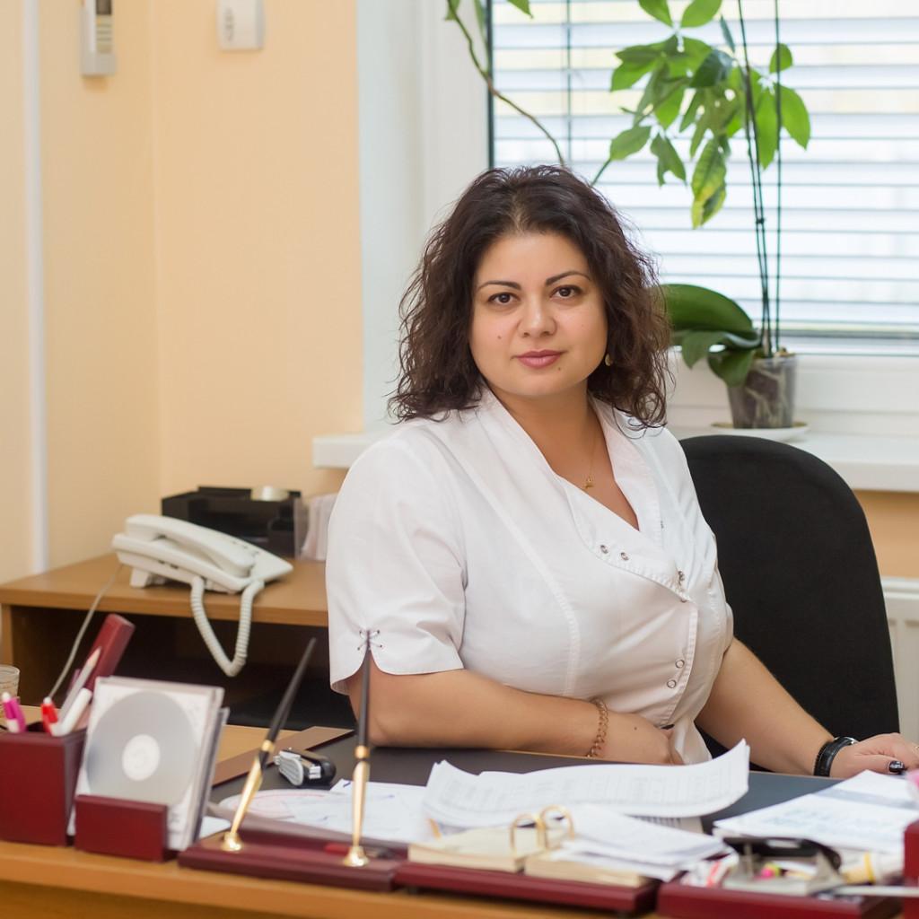 Заведующая отделением медико-генетической консультации - Грамматикова Оксана Александровна