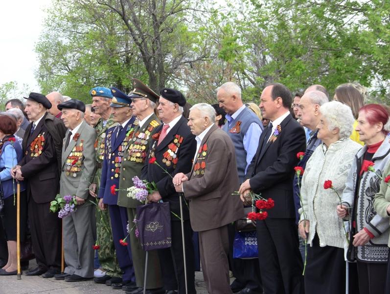 Митинг ко Дню Победы