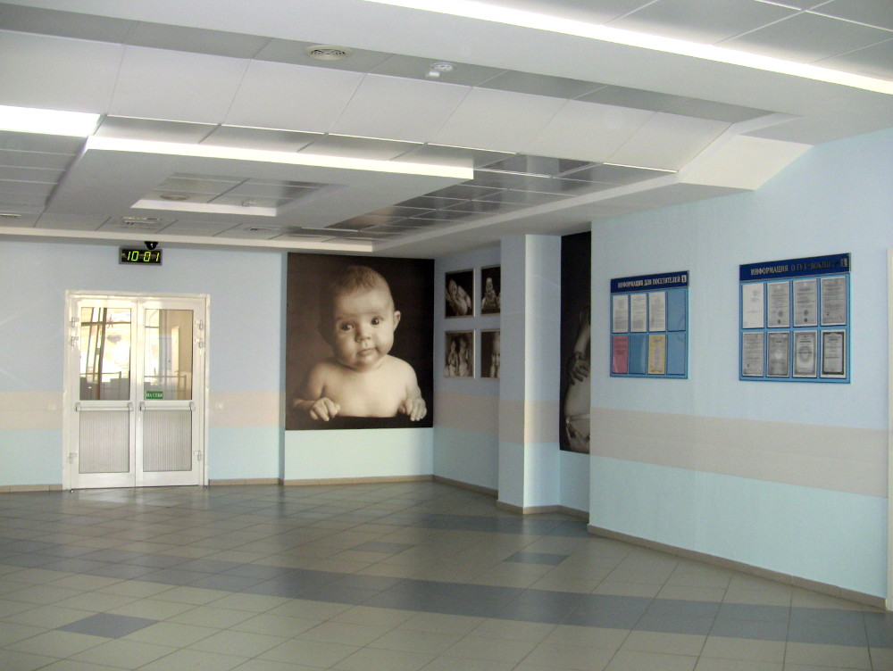 Холл подъезд №1