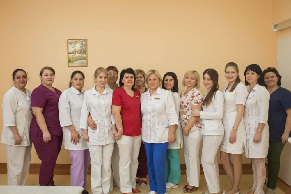 Сотрудники клинико-диагностической поликлиники