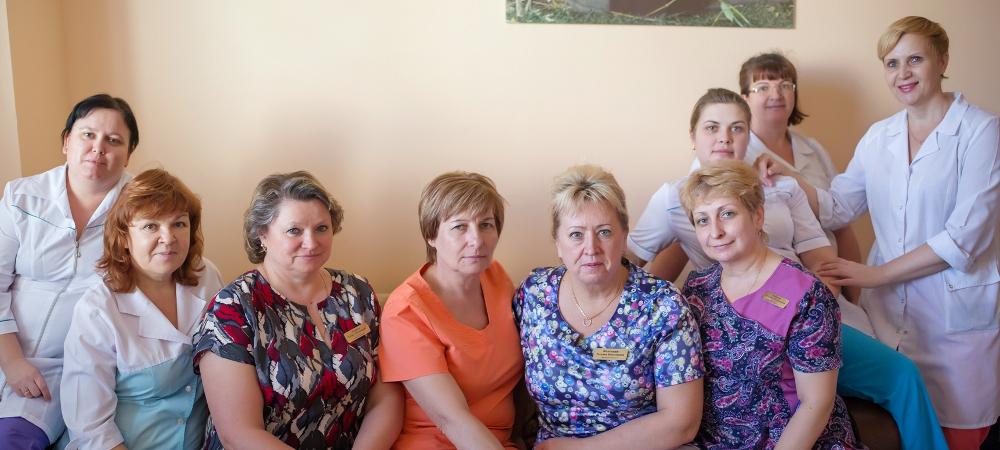Сотрудники родильного отделения